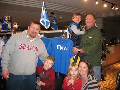 Dallas Mavericks Game Honoring Connemara Supporters