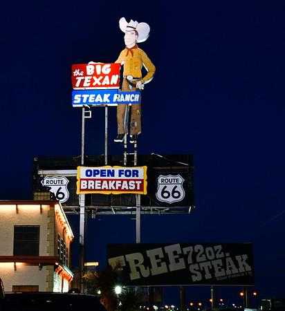 Big Texan Steak Ranch in Amarillo, TX