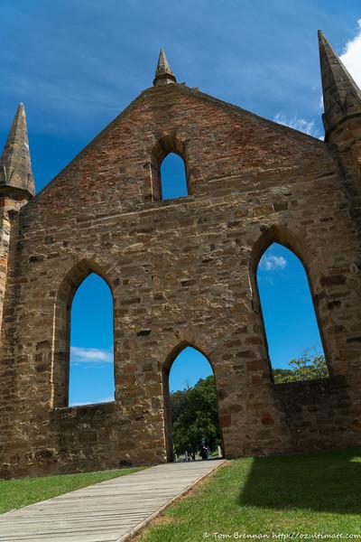 Port Arthur - The Church