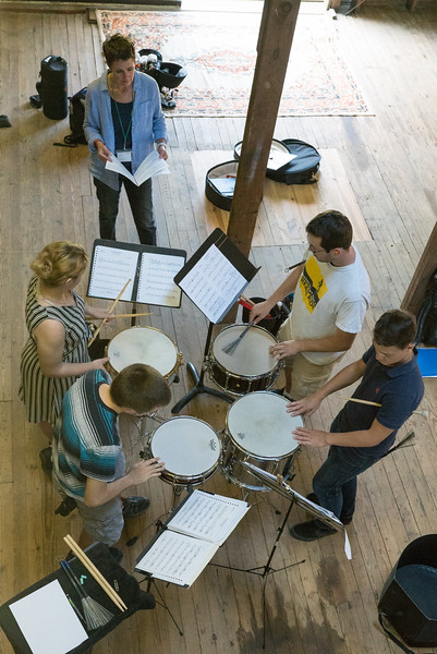 NMF 2018 Ingersoll Music Barn, Mozart Sym 25 Reh, Camilo Carrara
