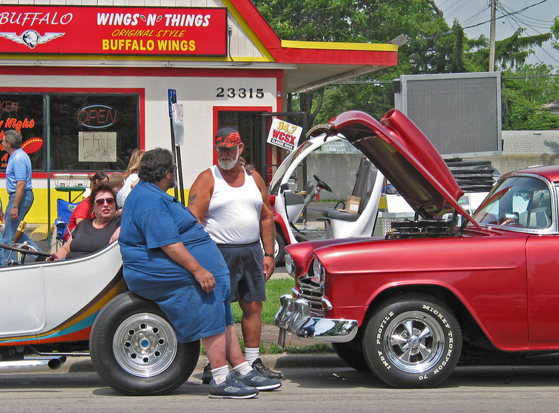 At the 2003 Gratiot Cruise