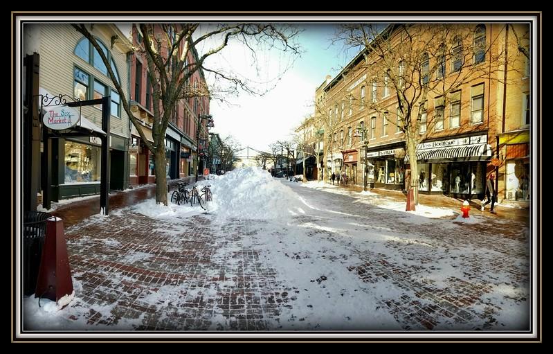 2018-01-14 UVM College Visit Burlington Winter Snow V(33) Church Street