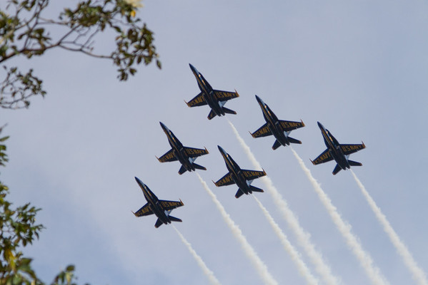 Blue Angels at Magic Kingdom