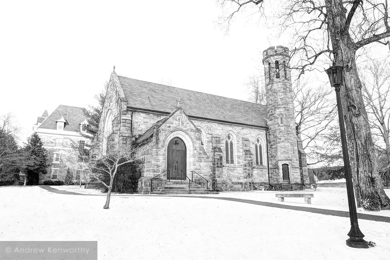 Sewanee University of the South Winter 02 BW.jpg