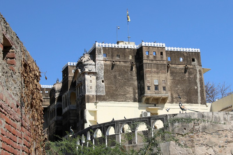 The 340 year old Fort Barli Heritage Hotel -  where we spent 2 nights and experienced one of the best parts of our trip!