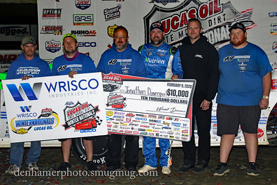 Lucas Oil Late Models - 2/9/20 - Jim DenHamer photos