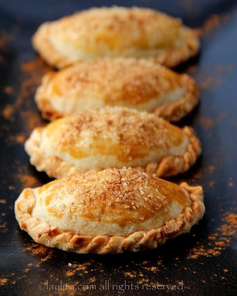 Recipes using pumpkin - Candied pumpkin empanadas.jpg