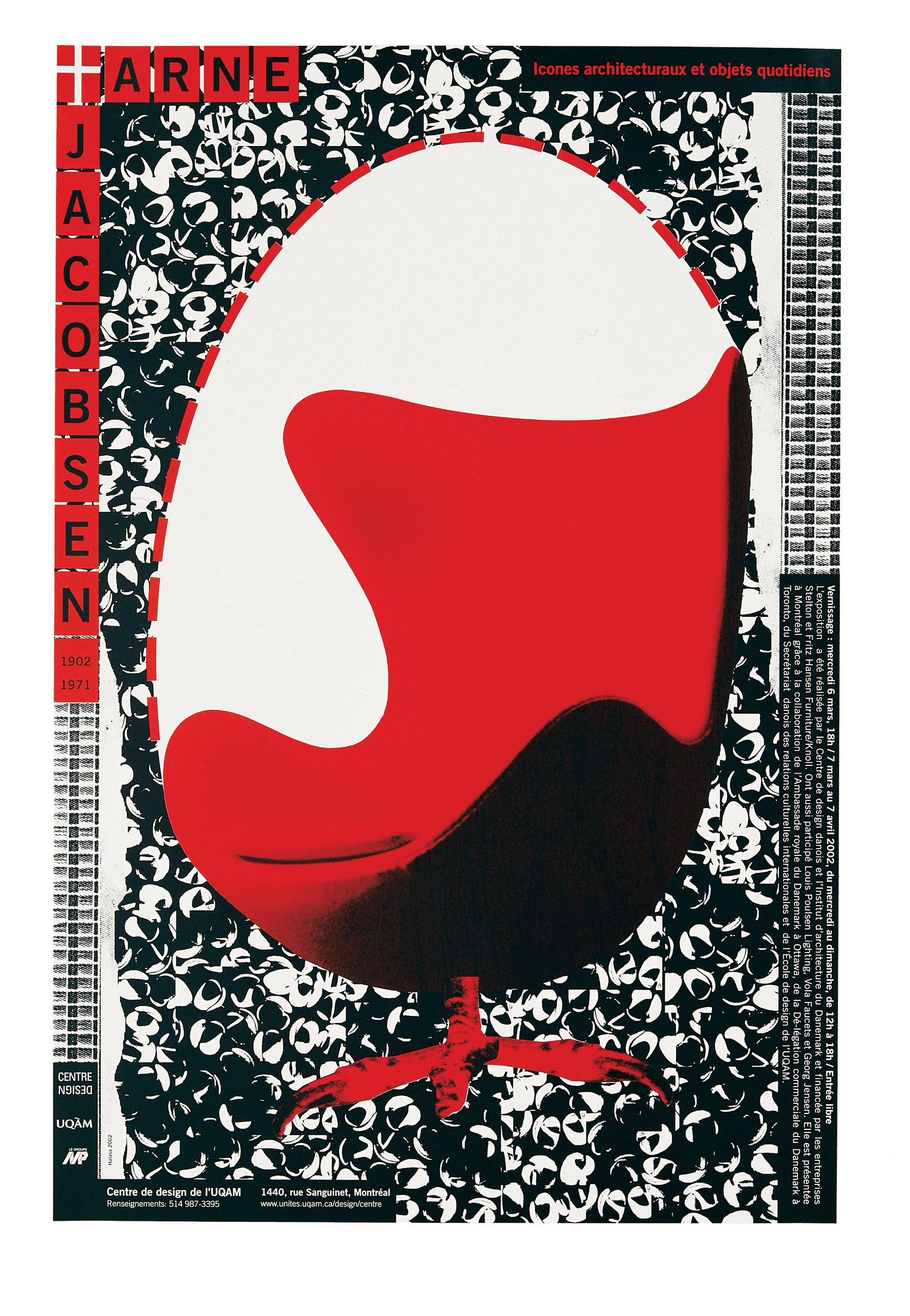 2002 - Exposition - Arne Jacobsen 1902-1971 Icône architecturaux et objets quotidiens ©Alfred Halasa