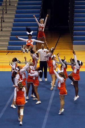 Cheerleaders JV District Finals 10/27/10