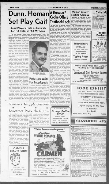 Summer News, Vol. 3, No. 7, July 07, 1948