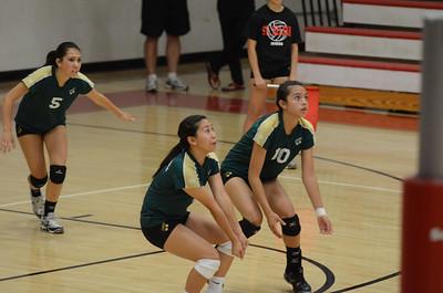 Malia SPSV Volleyball 9-15-2011 vs. St. Helena