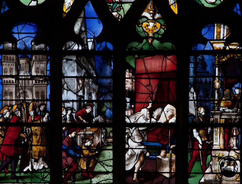 Gisors, Saint-Gervais-Saint-Protais Church, Saint Crepin and Saint Crepinen