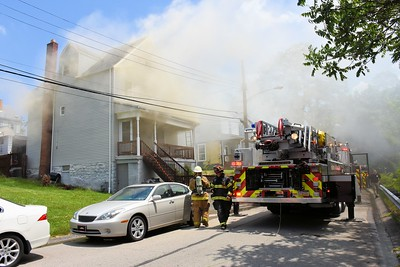 Ross Township residential structure fire Varney Street