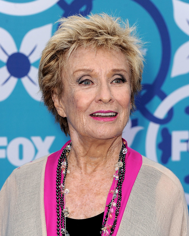 . Actress Cloris Leachman arrives at the Fox Fall Eco-Casino Party at The Bungalow on September 9, 2013 in Santa Monica, California.  (Photo by Kevin Winter/Getty Images)