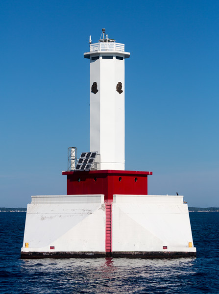 The Round Island passage light