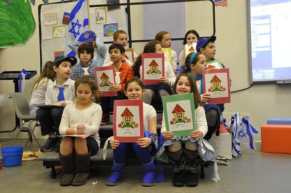 4th Grade Parent Tu B'Shvat Celebration 020113