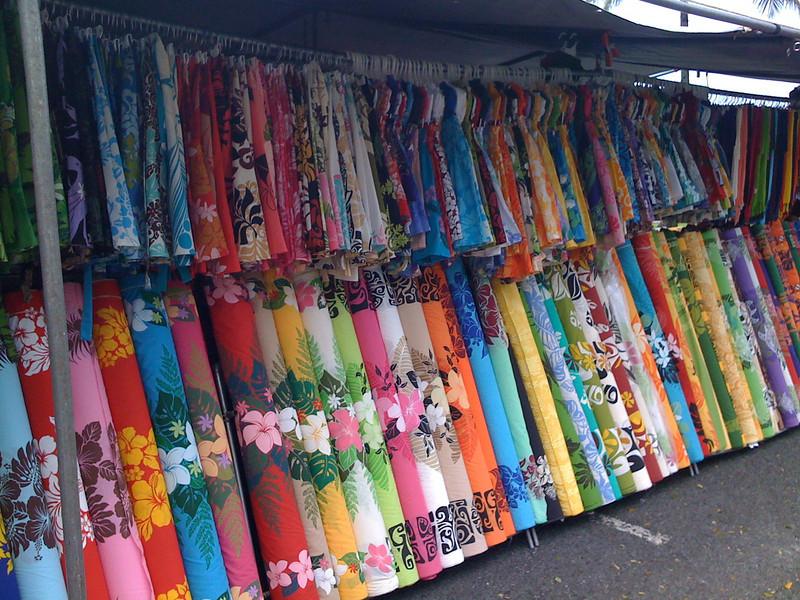 Aloha fabrics.
