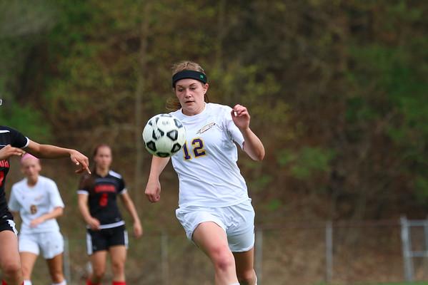 Soccer Girls vs. Bangor - KCHS - 4/25/16