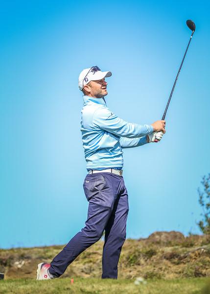 GJÓ, Guðjón Karl Þórisson Íslandsmót í golfi 2019 - Grafarholt 2. keppnisdagur Mynd: seth@golf.is