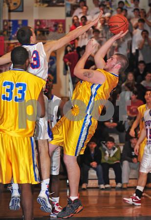 2010-02-12 Southside HS Boys Basketball vs Lawrence HS