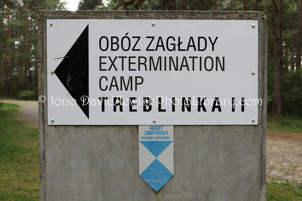 POLAND, Treblinka. Treblinka II (two) extermination camp. (9.2011)