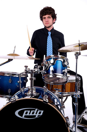 Manny on the Drums