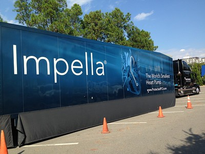 Impella Mobile Learning Lab Visits Infirmary (Oct. 2015)