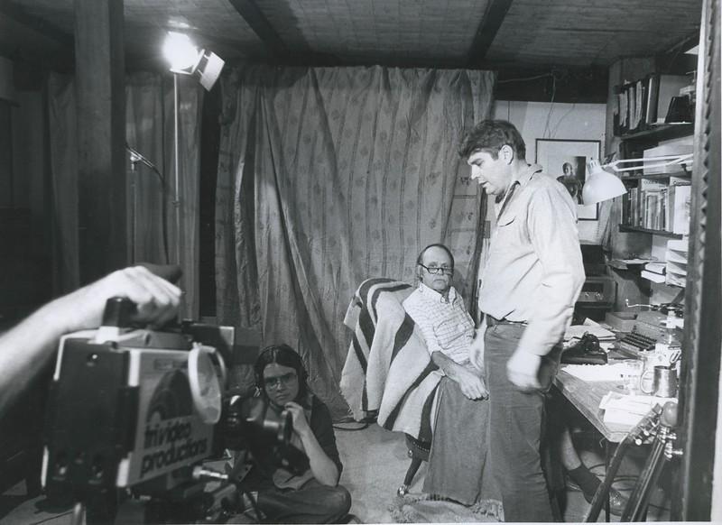 1980 - Oakley Hall & Gill Dennis on set.jpeg