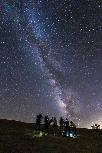 Shooting the Milky Way with the Night Photography Lovers San Diego Meetup group
