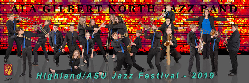 2019 Highland ASU Jazz Festival Group Posters