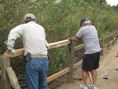 Fullerton Trail Fence Project
