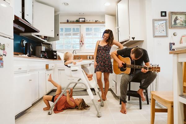 Seattle Family Photographer A Kitchen Portrait