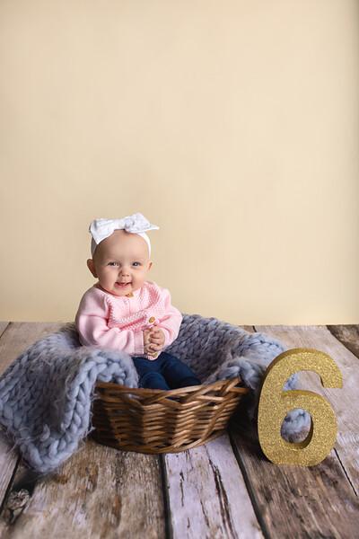 Izabella 6 Month
