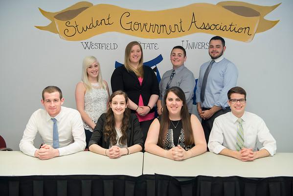 SGA Executive Council- Spring 2014