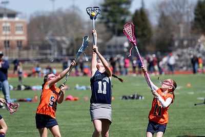 2015 Franklin Girls Lacrosse 3/4 Blue