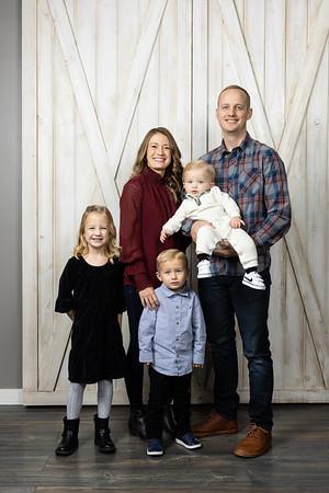 Daniels Family in Studio 2020