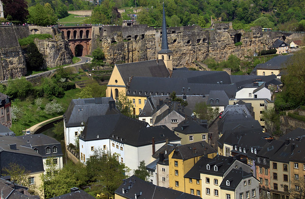 Viking River Cruise, Visit to Luxembourg & the American Cemetery