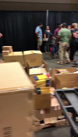 How they pack the supplies