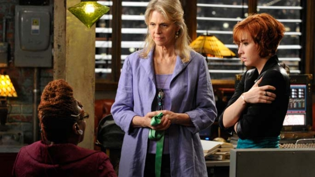 """. Lindsay Wagner, aka The Bionic Woman, from episode 211, \""""Buried.\"""" SyFy"""