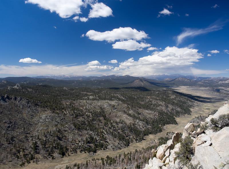 Kern Peak in the distance