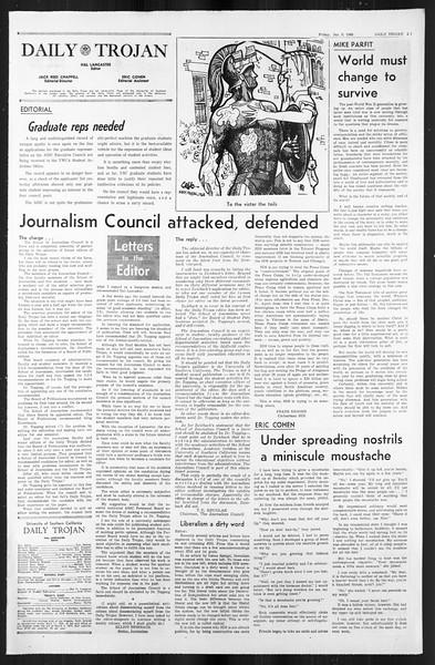 Daily Trojan, Vol. 59, No. 60, January 05, 1968