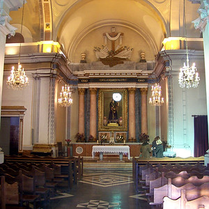 10580 Church on the montgo in Javea