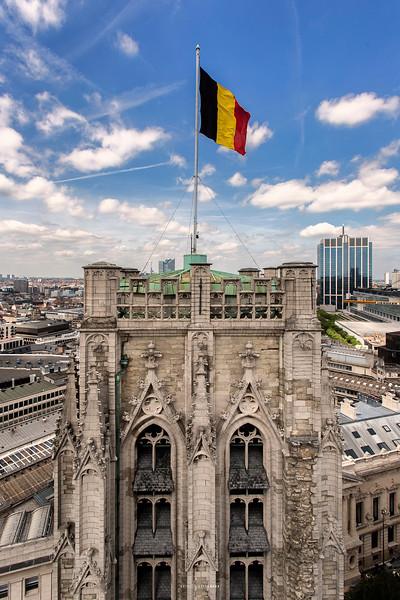 Vues de la Cathédrale Saints Michel et Gudule