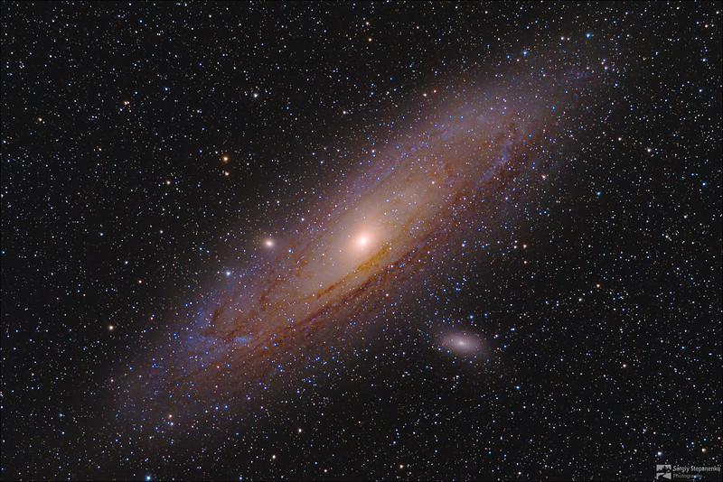Andromeda Galaxy | Галактика Андромеды