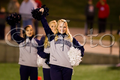 FHS V vs. Maryville (11-10-17) Playoff Cheerleaders