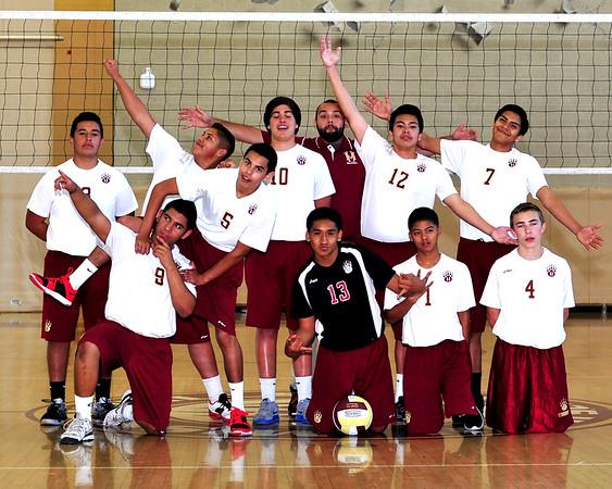 JV Boys Volleyball