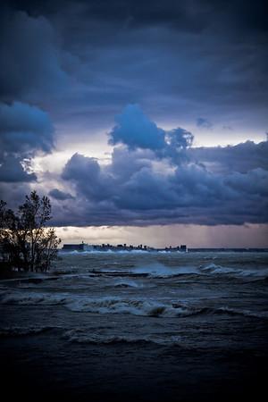 The Niagara River & Lake Erie