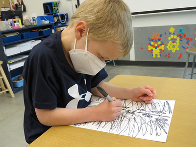 LS Kindergarten Art Class 3-26-21