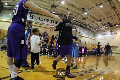 North v Southwest Girls Basketball 1-13-11