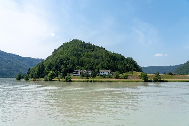 Schlögen Oxbow bend on the Danube